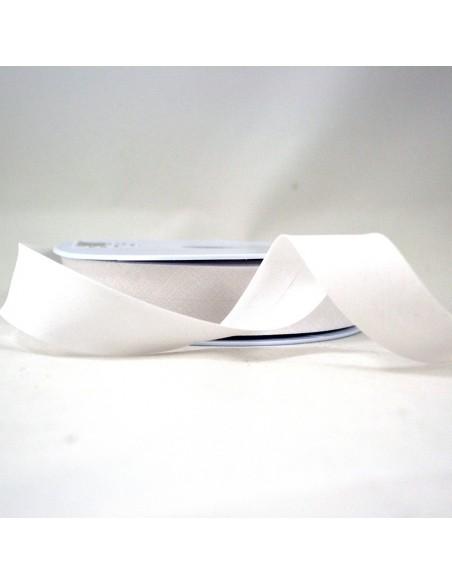 Biais Toutextile 27mm Blanc