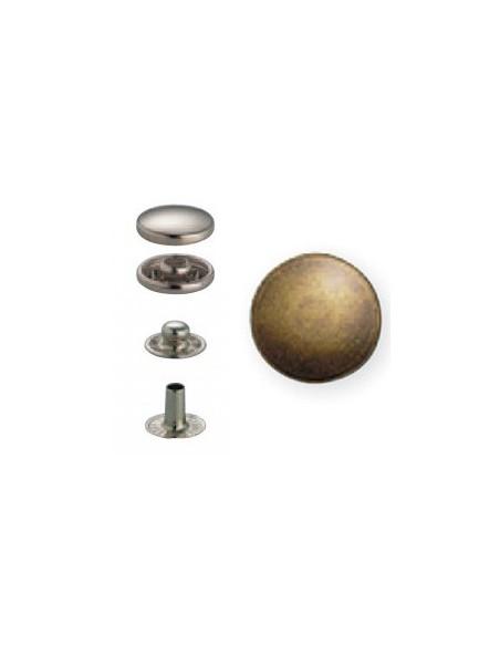 Bouton pression Anorak 15mm Laiton antique