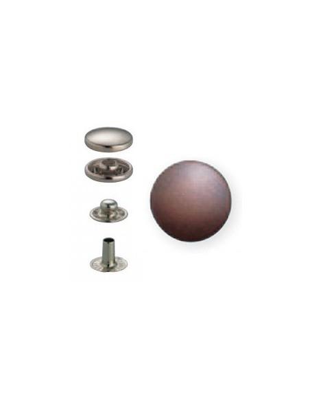 Bouton pression Anorak 15mm Cuivre antique