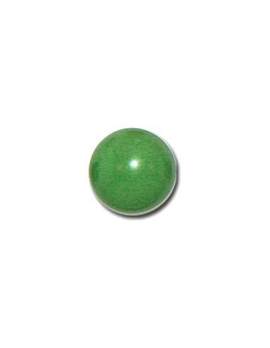 Bouton Boule 13mm Vert prairie