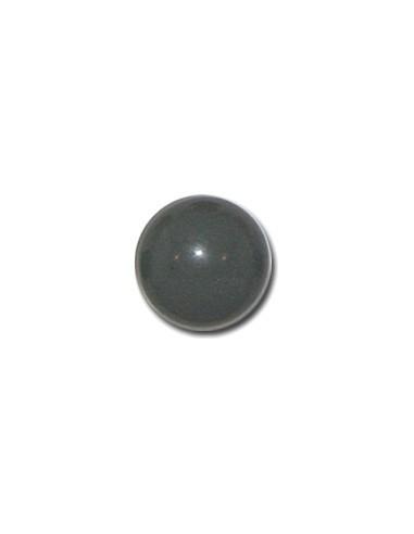 Bouton Boule 13mm Gris ciment