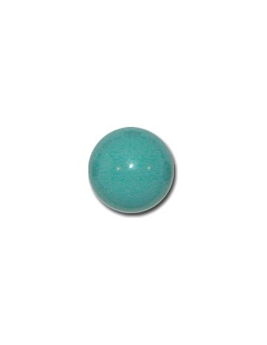 Bouton Boule 13mm Turquoise