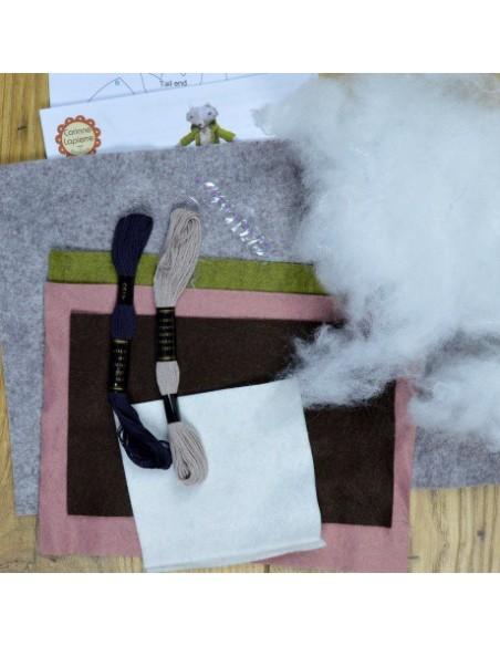 Kit créatif en feutrine - Madame Loulou