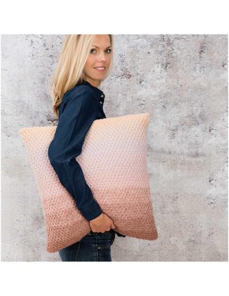 Pelote Creative wool dégradé super 6 poudre-gris