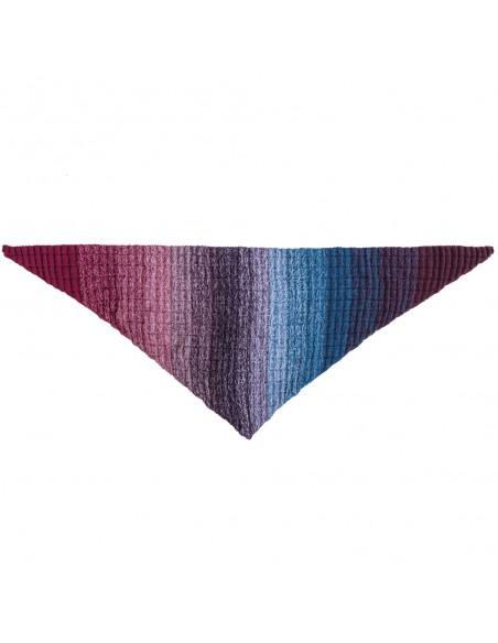 Pelote Creative wool dégradé super 6 bleu-lilas