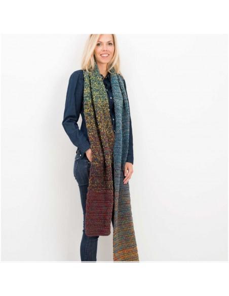 Pelote Creative wool dégradé super 6 multicolor