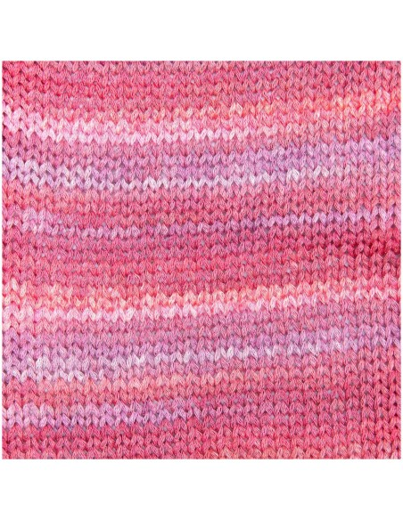 Pelote Creative cotton color coated baie mix