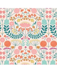 Tissu en coton Rivelin valley - Flowers