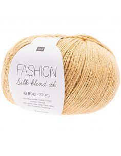 Pelote Fashion silk blend dk moutarde