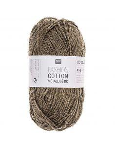 Pelote Fashion cotton métallisé dk agathe mousse