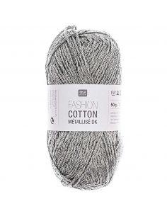 Pelote Fashion cotton métallisé dk zinc