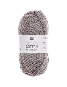 Pelote Fashion cotton métallisé dk fer