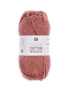 Pelote Fashion cotton métallisé dk rubis