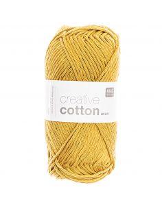 Pelote Creative cotton aran safran