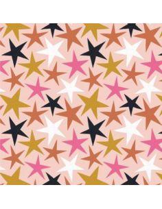 Tissu en coton Under the stars Etoiles