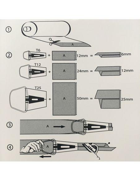 Appareil à biais 12mm