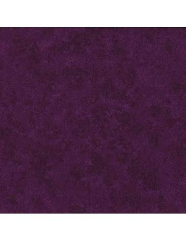 Tissu en coton Spraytime Aubergine