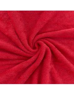 Tissu éponge de bambou coquelicot