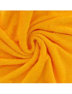 Tissu éponge de bambou safran