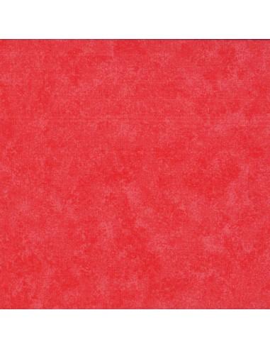 Tissu en coton Spraytime Corail