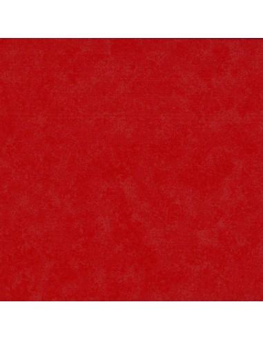 Tissu en coton Spraytime Vermillon