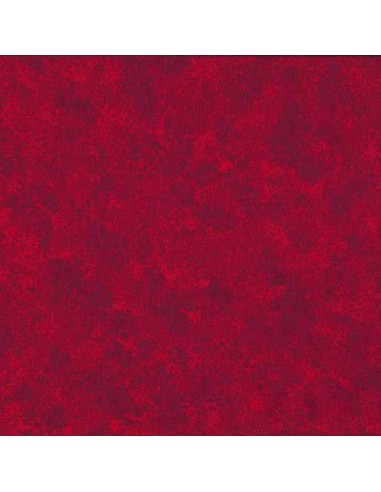 Tissu en coton Spraytime Coquelicot