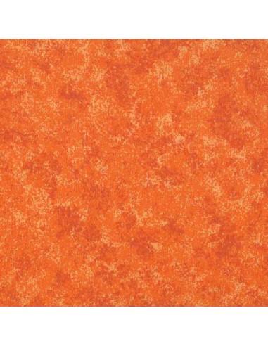 Tissu en coton Spraytime Mandarine