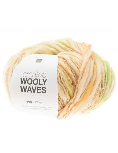 Pelote Creative wooly waves pastel