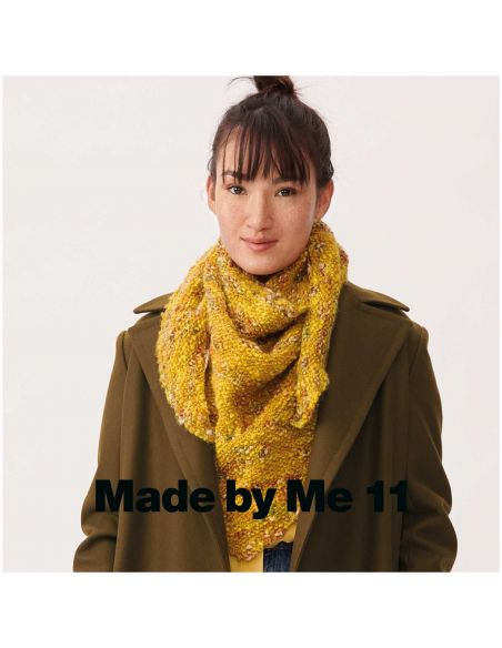 Pelote Creative wooly waves jaune