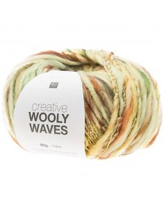 Pelote Creative wooly waves menthe