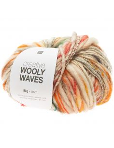 Pelote Creative wooly waves gris