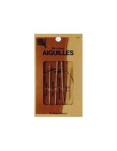 Pochette 5 Aiguilles de Bricoleur