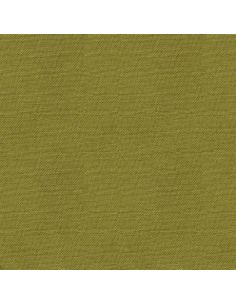 Tissu en coton uni Pop Olive