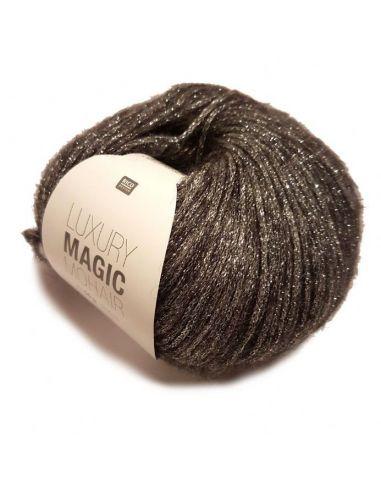 Pelote Luxury magic mohair or-noir