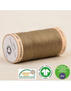 Bobine de 275m de fil à coudre 100% Coton bio Bronze