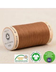 Bobine de 275m de fil à coudre 100% Coton bio Havanne