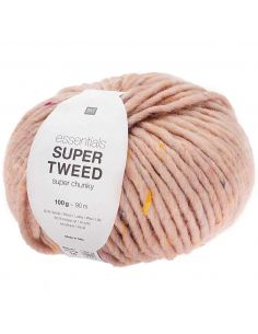 Pelote Essentials super tweed super chunky poudre
