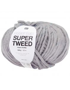 Pelote Essentials super tweed super chunky lilas