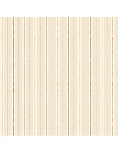 Tissu en coton Chicken and Egg - Stripes Cream