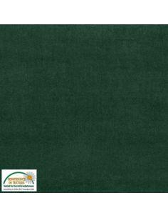 Tissu en Avalana velours stretch vert