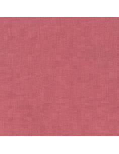 Tissu en lin et coton rose anglais