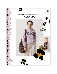 Livre de couture de Rico n°10 Acid Leo