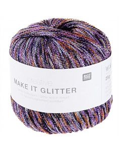 Pelote Creative make it glitter fleurs