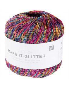 Pelote Creative make it glitter rainbow