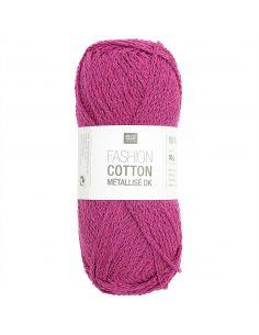 Pelote Fashion cotton métallisé dk corail