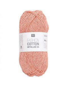 Pelote Fashion cotton métallisé dk ambre