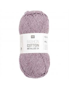 Pelote Fashion cotton métallisé dk lave