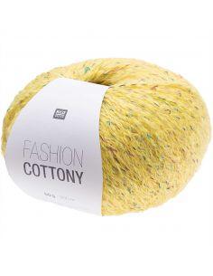 Pelote Fashion cottony jaune