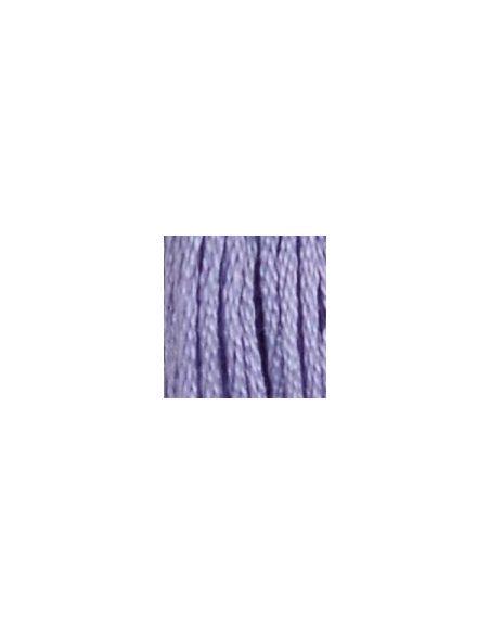 Fil à broder mouliné spécial 25 violet 30