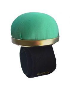 Bracelet porte épingles ajustable vert